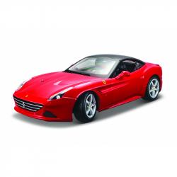Bburago 1:18 Ferrari California T z zamkniętym dachem Czerwony