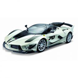 Bburago 1:18 Ferrari TOP FXX-K EVO No.70 (white / black)