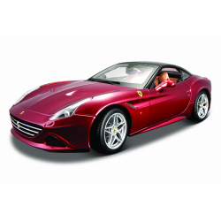 Bburago 1:18 Ferrari Signature series California (Closed Top) Metallic Red