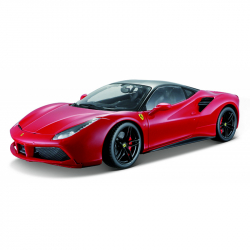 Bburago 1:18 Ferrari Signature series 488 GTB Red