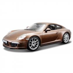 Bburago 1:24 Plus Porsche 911 Carrera S Metallic Brown