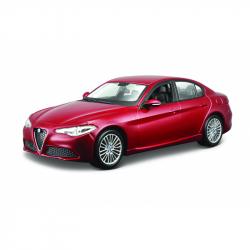 Bburago 1:24 Plus Alfa Romeo Giulia (2016) Metallic Red