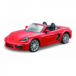 Bburago 1:24 Plus Porsche 718 Boxster Orange