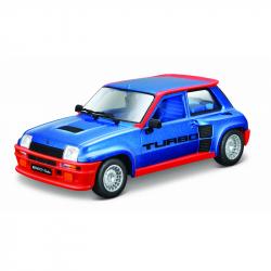 Bburago 1:24 Plus Renault 5 Turbo modré