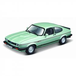 Bburago 1:24 Plus Ford Capri 1982 light green