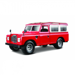 Bburago 1:24 Land Rover Red