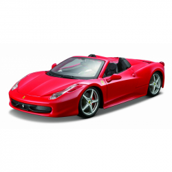 Bburago 1:24 Ferrari 458 Spider Red