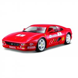 Bburago 1:24 Ferrari Racing F355 Challenge Red