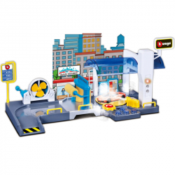 Bburago PLAY 1:43 Street Fire Car Wash