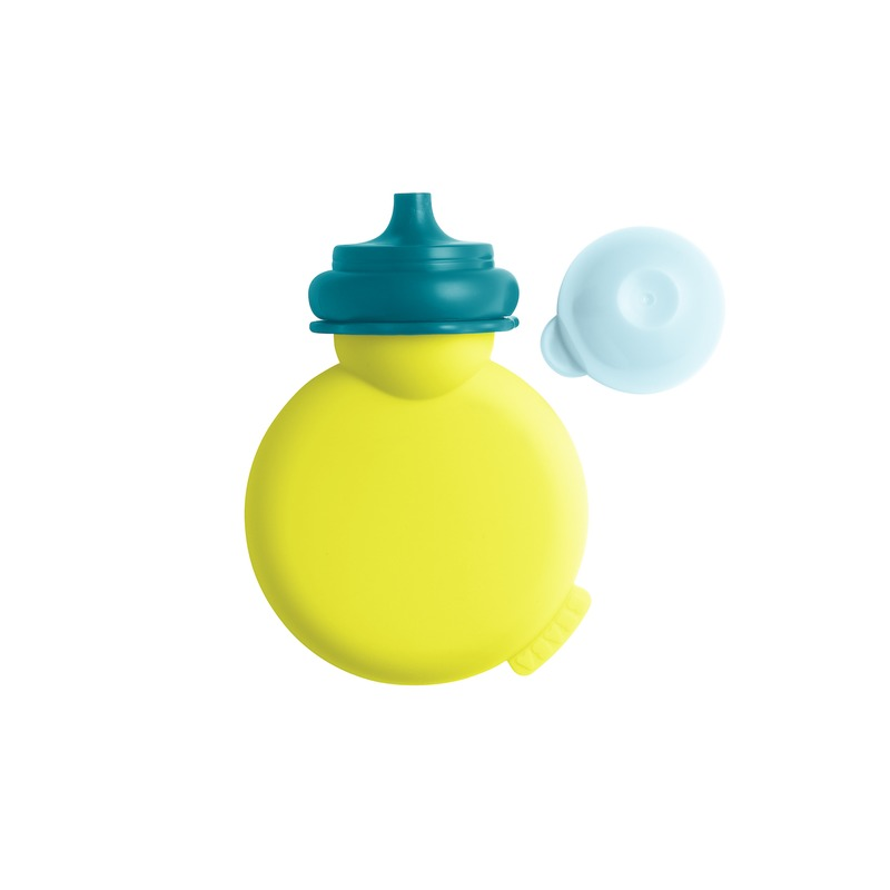 Lahvička Babypote neon/modrá