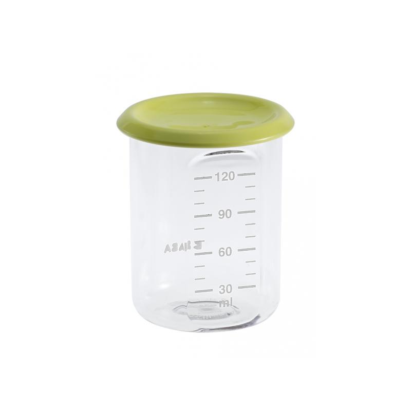 Téglik na jedlo 120 ml zelený