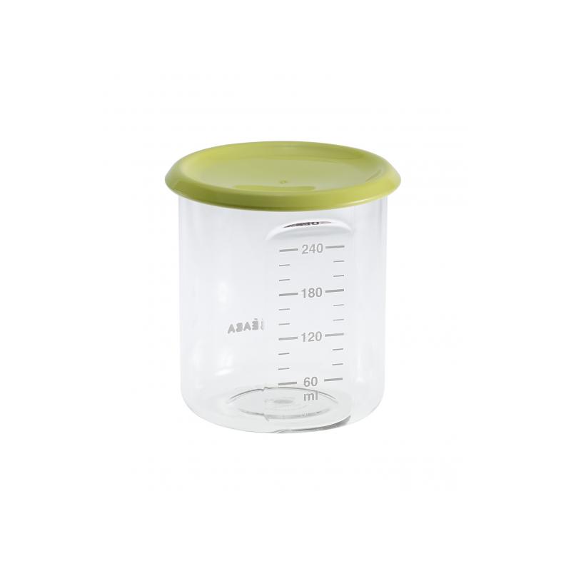 Téglik na jedlo 240 ml zelený