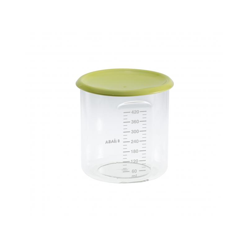 Téglik na jedlo 420 ml zelený