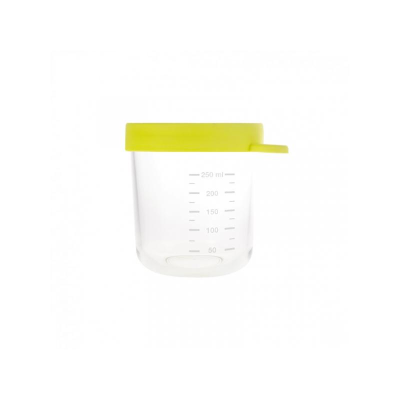 Kelímek na jídlo skleněný 250ml zelený