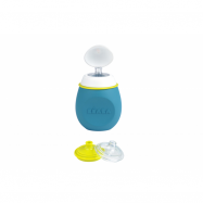 Fľaštička BabySqueez 2v1 Blue