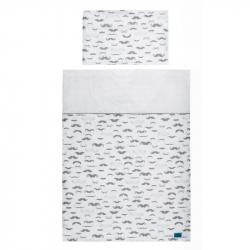 2-dielne posteľné obliečky Belisima Little Man 90/120 šede