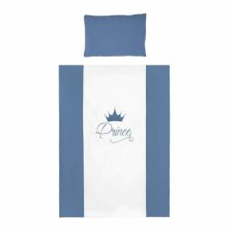 2-dílné ložní povlečení Belisima Royal Baby 100/135 modré