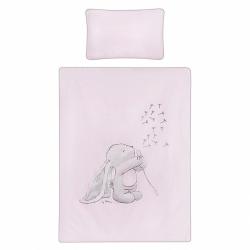 5-dielne posteľné obliečky Belisima ANDRE 90/120 ružové
