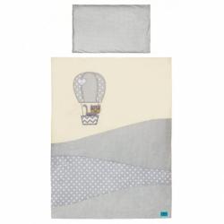3-dielne posteľné obliečky Belisima Balón 90/120 béžove