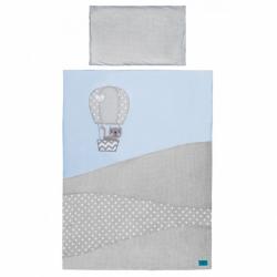 3-dielne posteľné obliečky Belisima Balón 100/135 modré