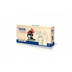Stavebnice Seva Zvířata - Poslové dobrých zpráv plast 171ks v krabici 31,5x16,5x8cm