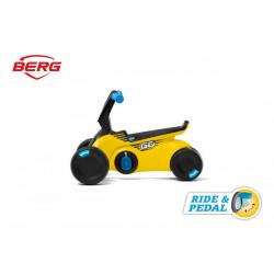 BERG GO Sparx - 2v1, odrážedlo a šlapadly žluté