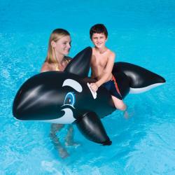Nafukovací velryba s držadly, 203 x 102 cm