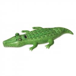 Nafukovací krokodíl s držadlom, 203 x 117 cm