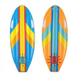 Detský surf Sunny Rider, 1,14 x 46cm - mix 2 farby (modrá, oranžová)