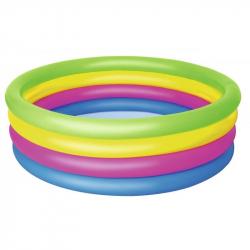 Nafukovací bazénik farebný, priemer 1,57m, výška 46cm