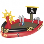 Nafukovací bazén - pirátská loď 190x140x96cm