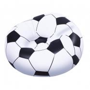 Nafukovacie kreslo Futbalová lopta, 1,14m x 1,12m x 66cm
