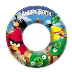 Nafukovací kruh - Angry Birds, priemer 56 cm