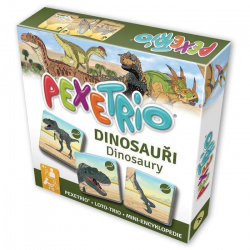 Betaxa Pexetrio: Poznáš dinosaury?