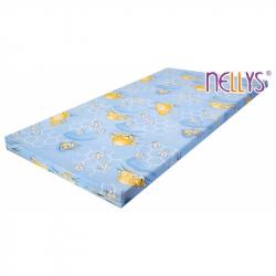 Pěnová (molitanová) matrace 120x60cm - klukovské barvy,různé motivy