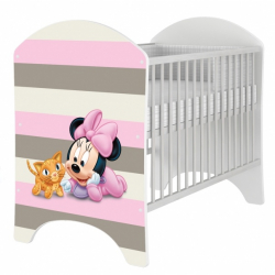 Dětská postýlka Disney Baby Minnie 120x60cm