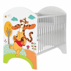 Detská postieľka Disney Medvedík PÚ a Tigrík 120x60cm