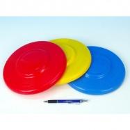 Lietajúci tanier plast priemer 23cm asst farieb 12m +