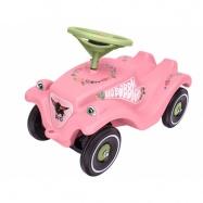 Auto odstrkovadlo BIG BOBBY CAR CLASSIC růžové s kytičkami