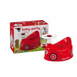 BIG Nocnik Bobby Car Czerwony kierownica