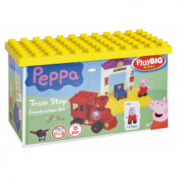 PlayBig BLOXX Peppa Pig železničná zastávka
