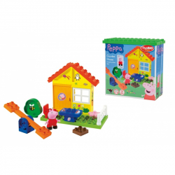 PlayBig BLOXX Peppa Pig záhradný domček