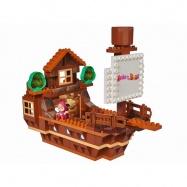 PlayBig BLOXX Máša a medvěd Míšova loď