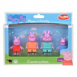 PlayBig BLOXX  Peppa Pig Figúrky Rodina