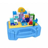 PlayBig BLOXX Peppa Pig Sada s kufříkem