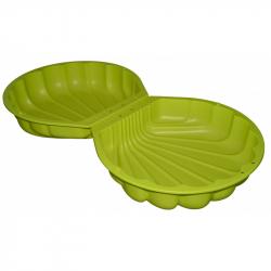 BIG Pieskovisko mušľa zelená