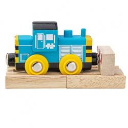 Bigjigs Rail Drevený vláčik Shunter