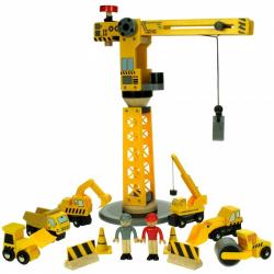 Bigjigs Jeřáb a stavební stroje