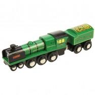 Bigjigs dřevěná replika lokomotivy - RH DR Typhoon