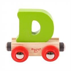 BigjigsRail Wagonik literka D
